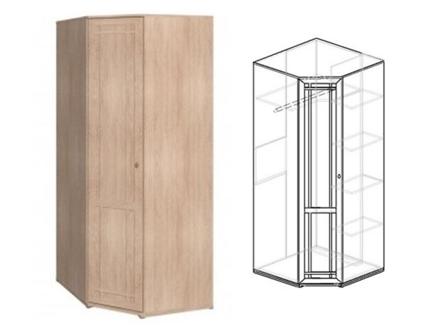 Шкаф угловой 10 (дуб)