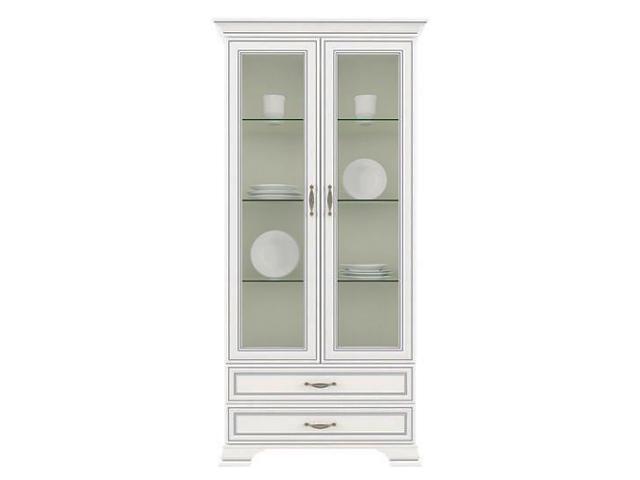 Шкаф с витриной 2V2S