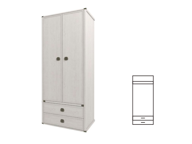 Шкаф 2DG2S