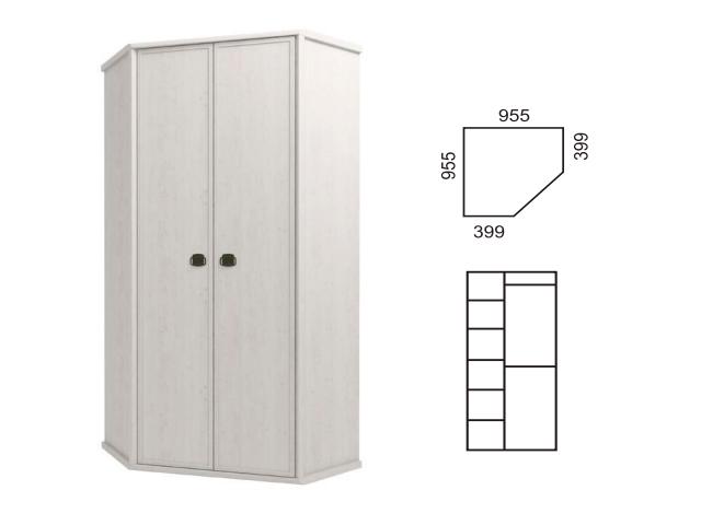 Шкаф угловой 2D