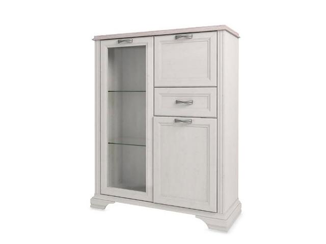 Шкаф с витриной 1V2D1S