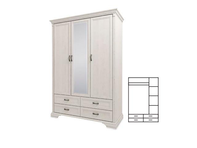 Шкаф 3D4S