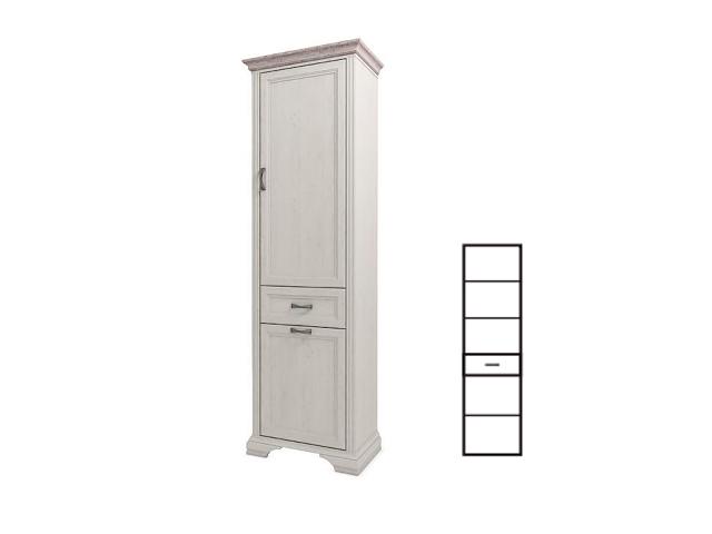 Шкаф 2D1S