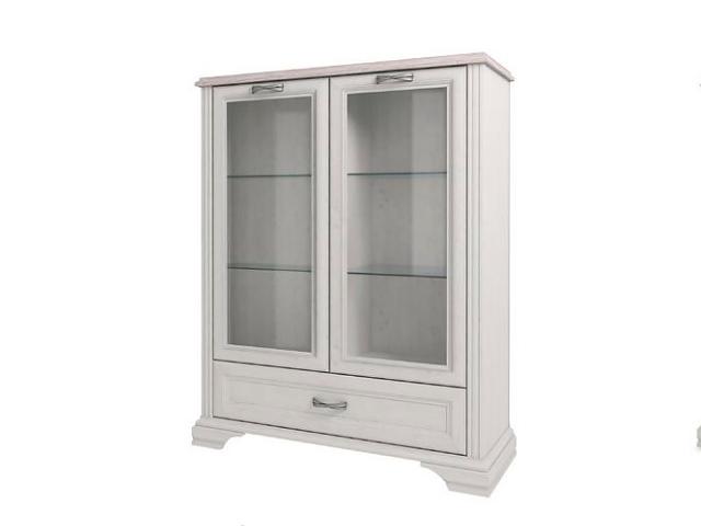 Шкаф с витриной 2V2D1S