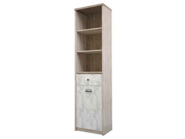 Шкаф открытый 1D1S/D2