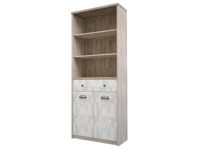 Шкаф открытый 2D1S/D2