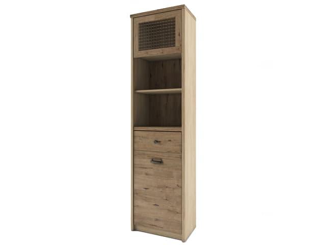 Шкаф с витриной 1V1D1S2N/D1