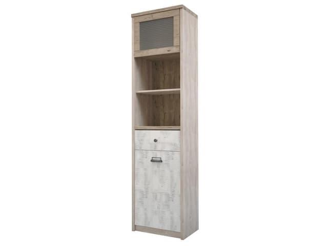 Шкаф с витриной 1V1D1S2N/D2