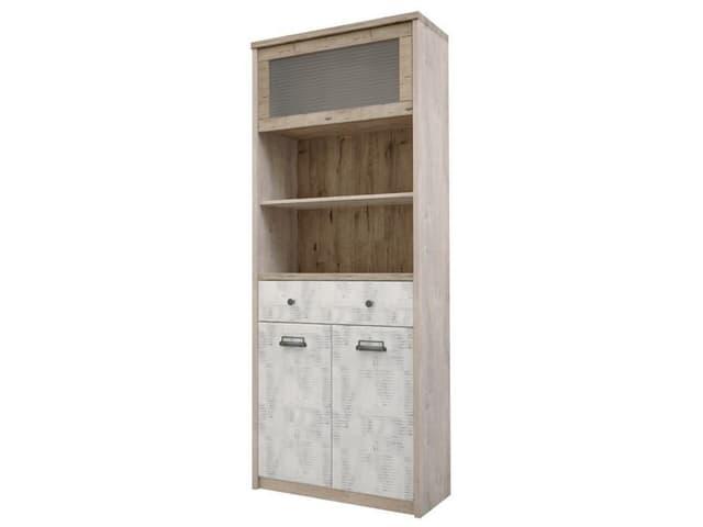 Шкаф с витриной 1V2D1S2N/D2