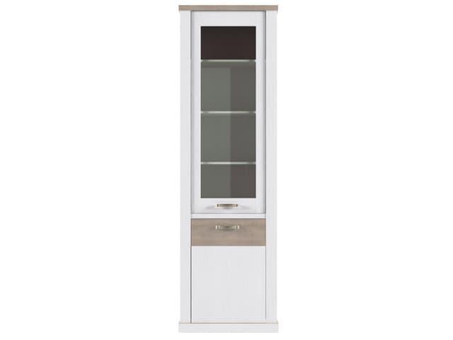Шкаф с витриной 1V1D