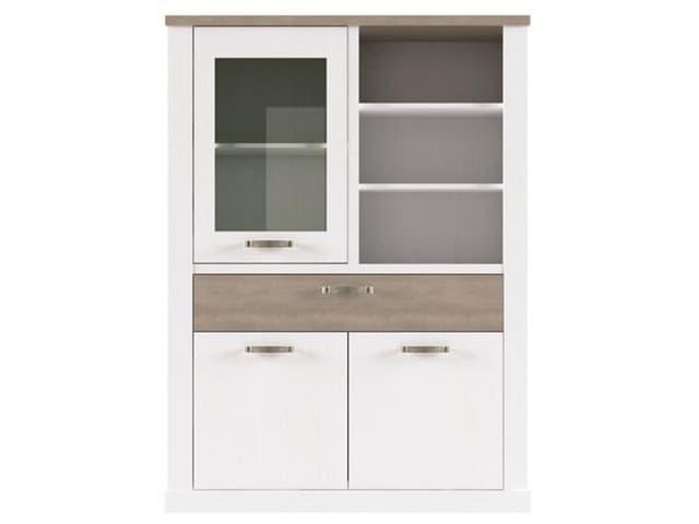 Шкаф с витриной 1V2D1SN