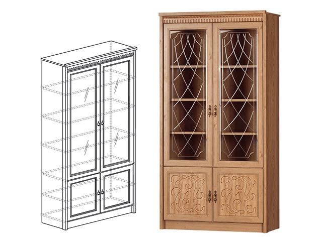 184 Шкаф для книг