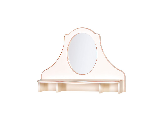 №557 Надставка комода с зеркалом