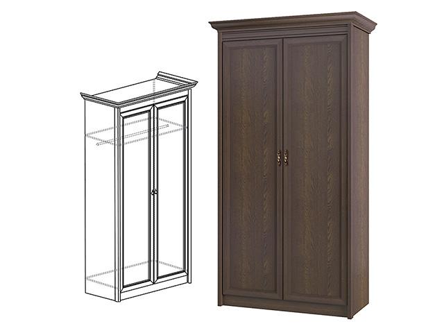 661 Шкаф для одежы 2-дв.
