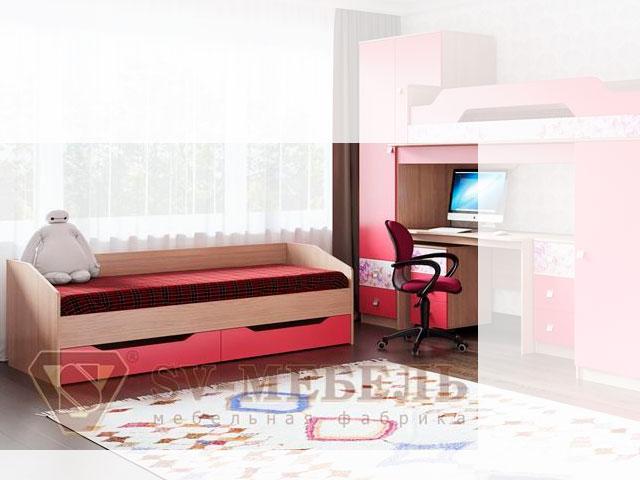 Кровать одинарная (с ящиками) 800 б/м