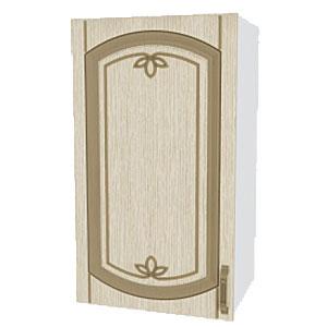 02_07 шкаф навесной L400 H720 (1 дв. глух.)