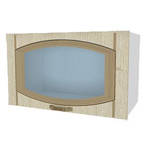 02_03 шкаф навесной L600 H360 (1 дв. рамка)