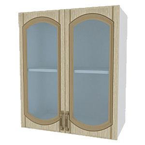 02_11 шкаф навесной L600 H720 (2 дв. рамка)