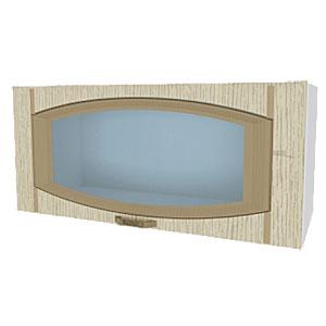 02_05 шкаф навесной L800 H360 (1 дв. рамка)