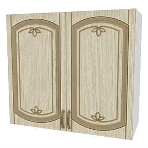 02_12 шкаф навесной L800 H720 (2 дв. глух.)