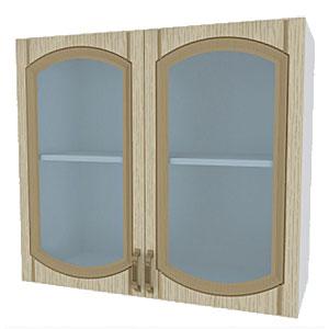 02_13 шкаф навесной L800 H720 (2 дв. рамка)