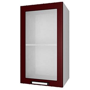 03_08 шкаф навесной L400 H720 (1 дв. рамка)