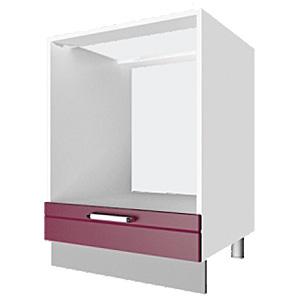 03_39 шкаф рабочий под духовку L600 (1 дв. глух.)