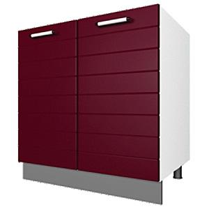 03_42 шкаф рабочий под мойку L800 (2 дв. глух.)