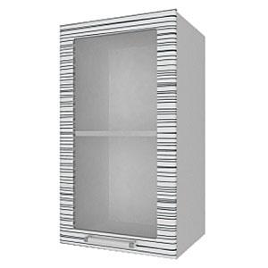 04_08 шкаф навесной L400 H720 (1 дв. рамка)