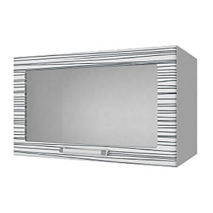 04_03 шкаф навесной L600 H360 (1 дв. рамка)