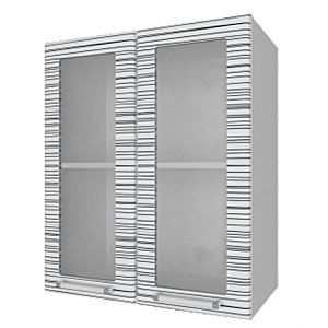 04_11 шкаф навесной L600 H720 (2 дв. рамка)
