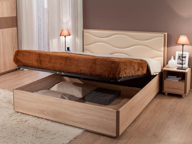 . Кровать 1,4 Люкс.