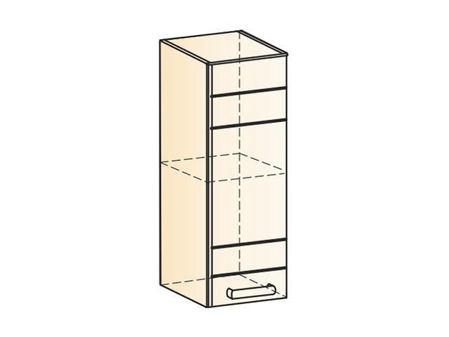 . Шкаф навесной L200 H720 (1дв.гл.).