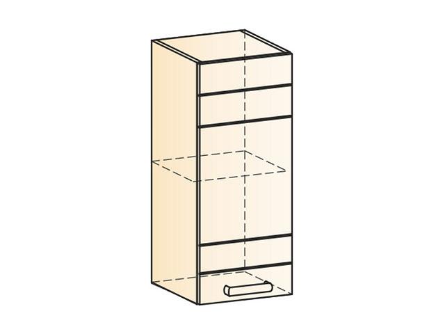 . Шкаф навесной L300 Н720 (1дв.гл.).