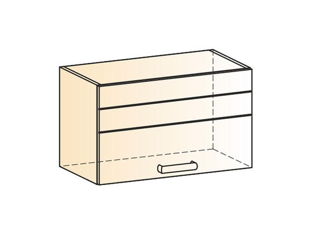 . Шкаф навесной L600 Н360 (1дв.гл.).