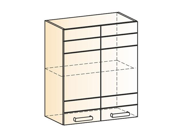 . Шкаф навесной L600 Н720 (2дв.гл.).