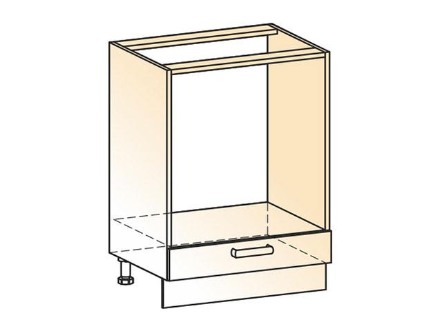 . Шкаф рабочий под духовку L600 (1дв.гл.).