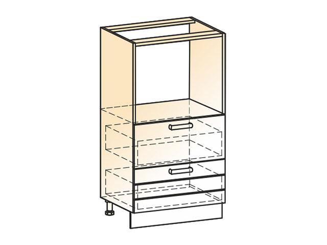 Шкаф-пенал L600 (2ящ.)