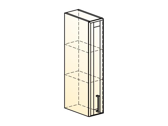 . Прованс Шкаф навесной L150 H804 (1 дв. гл.).