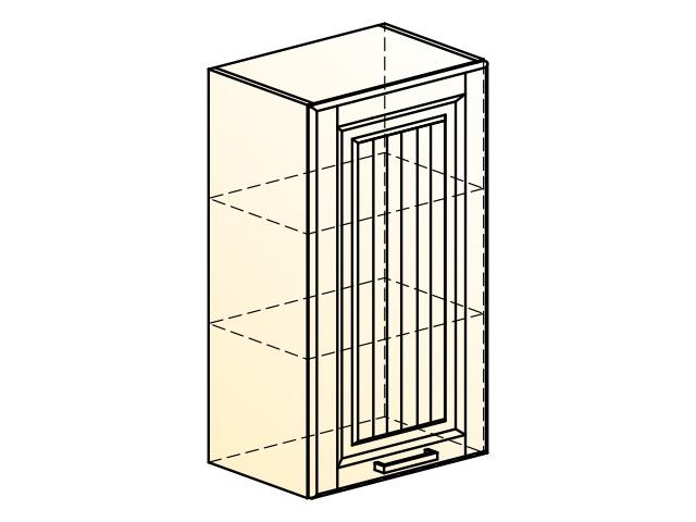 . Прованс Шкаф навесной L450 H804 (1 дв. гл.).