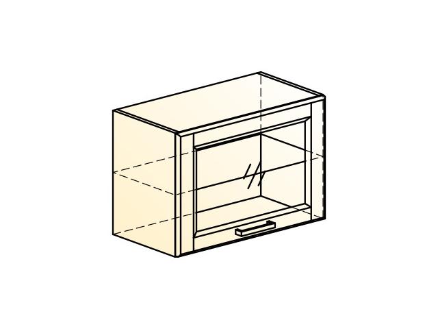 . Прованс Шкаф навесной L600 H402 (1 дв. рам.).