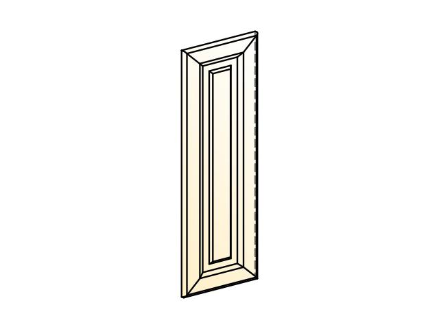 . Палермо Дверь (декор) L297 H800 навесного шкафа.