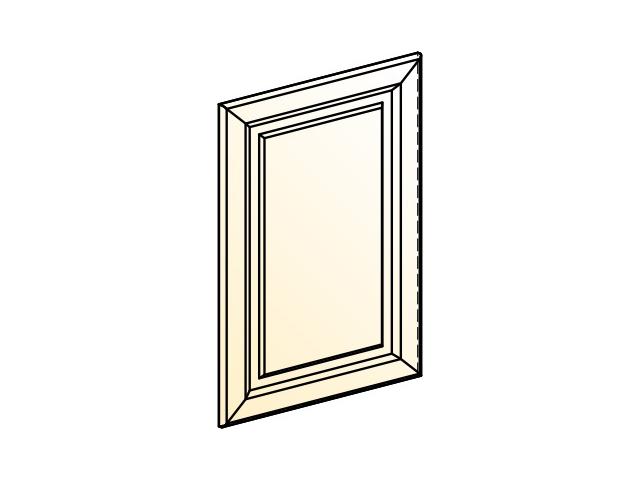. Палермо Дверь (декор) L551 H716 рабочего шкафа.