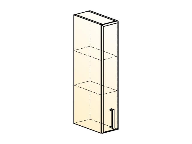 . Палермо Шкаф навесной L150 H804 (1 дв. гл.).
