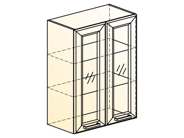 . Палермо Шкаф навесной L600 H804 (2 дв. рам.).
