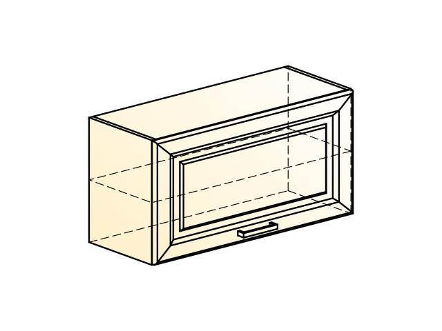 . Палермо Шкаф навесной L800 H402 (1 дв. гл.).