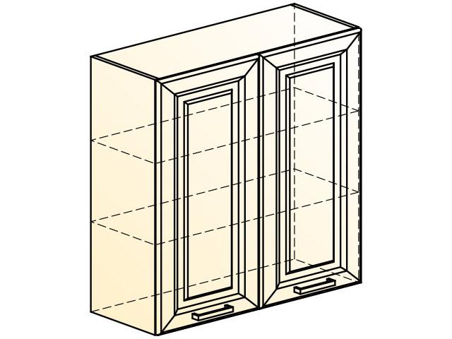 . Палермо Шкаф навесной L800 H804 (2 дв. гл.).