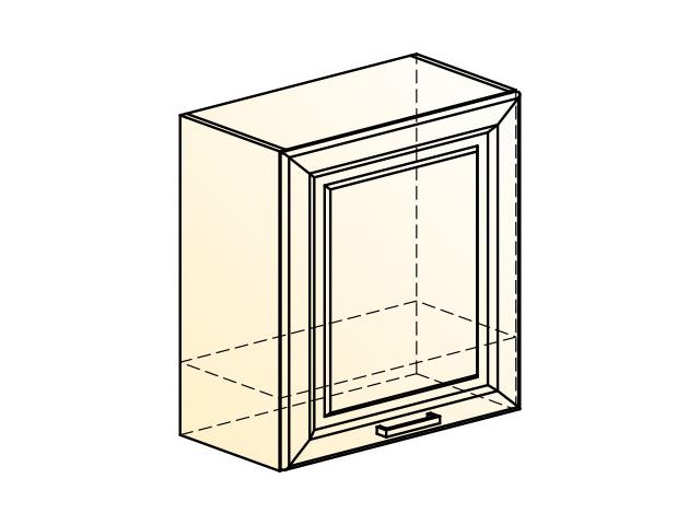 . Палермо Шкаф навесной под вытяжку L600 H650 (1 дв. гл.).