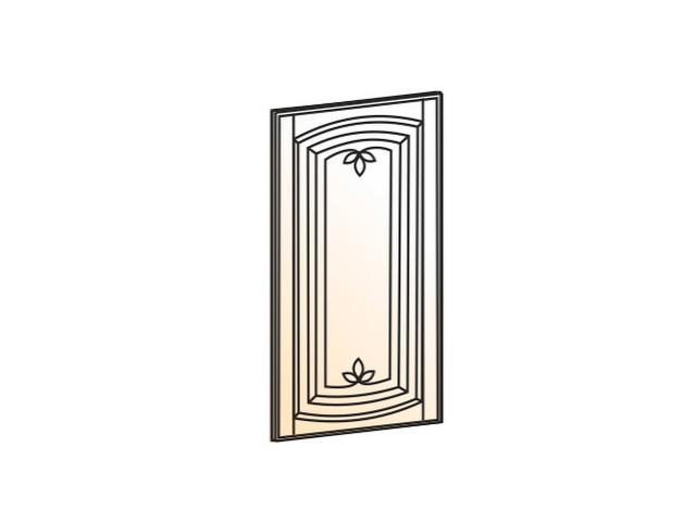 Бергамо Дверь (Декор) L297 Шкаф навесной