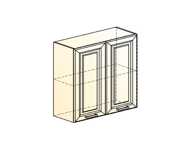 Шкаф навесной L800 Н720 (2 дв. гл.)